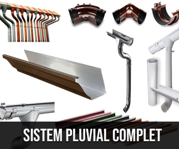 sistem pluvial complet